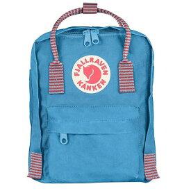 フェールラーベン メンズ バックパック・リュックサック バッグ Fjallraven Kanken Mini Backpack Air Blue-Striped
