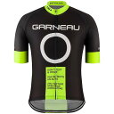 イルスガーナー メンズ シャツ トップス Louis Garneau Men's Dont Text and Drive Jersey Black / Yellow