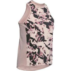 アンダーアーマー レディース Tシャツ トップス Under Armour Women's ISO-Chill Tank Top Dash Pink / French Grey