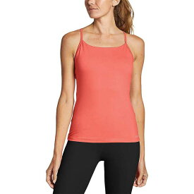 エディー バウアー レディース Tシャツ トップス Eddie Bauer Motion Women's Resolution 360 Y Back Tank Ink Red