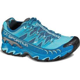 ラスポルティバ レディース スニーカー シューズ La Sportiva Women's Ultra Raptor Shoe Fjord / Malibu Blue
