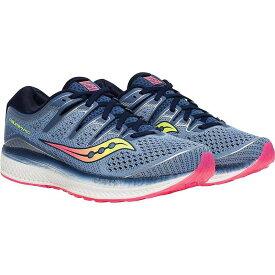 サッカニー レディース スニーカー シューズ Saucony Women's Triump ISO 5 Shoe Blue/Navy