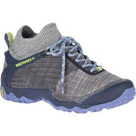 メレル レディース スニーカー シューズ Merrell Women's Chameleon 7 Knit Mid Shoe Charcoal / Navy