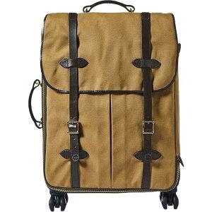 フィルソン メンズ スーツケース バッグ Filson Rolling 4 Wheel Check In Bag Tan