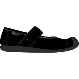 キーン レディース スニーカー シューズ Keen Women's Sienna MJ Canvas Shoe Black / Black