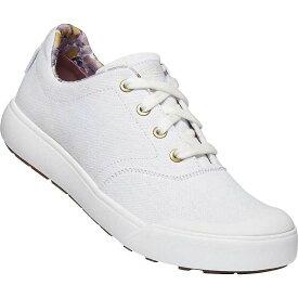 キーン レディース スニーカー シューズ Keen Women's Elena Oxford Shoe White / White