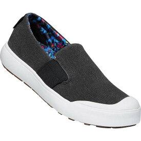 キーン レディース スニーカー シューズ Keen Women's Elena Slip On Shoe Black / White