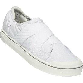 キーン レディース スニーカー シューズ Keen Women's Elsa IV Gore Slip On Shoe White / White