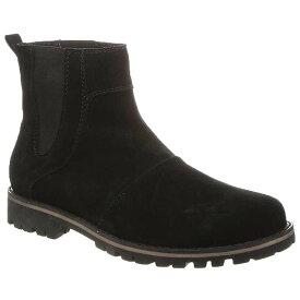ベアパウ メンズ ブーツ・レインブーツ シューズ Bearpaw Men's Alastair Chelsea Boot Black II