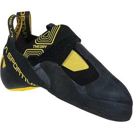 ラスポルティバ メンズ スニーカー シューズ La Sportiva Men's Theory Climbing Shoe Black / Yellow