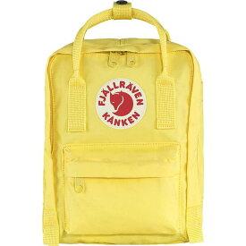 フェールラーベン メンズ バックパック・リュックサック バッグ Fjallraven Kanken Mini Backpack Corn