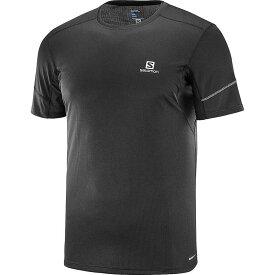 サロモン メンズ Tシャツ トップス Salomon Men's Agile SS Tee Black