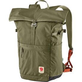 フェールラーベン メンズ バックパック・リュックサック バッグ Fjallraven High Coast Foldsack 24 Backpack Green