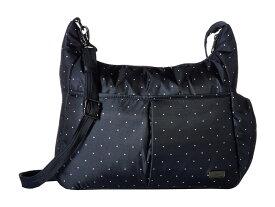 パックセーフ レディース ハンドバッグ バッグ Daysafe Anti-Theft Crossbody Bag Navy Polka Dot