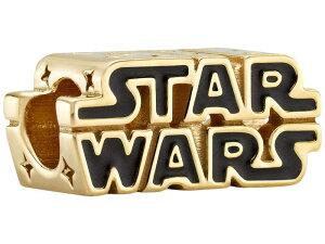 パンドラ レディース ネックレス・チョーカー・ペンダントトップ アクセサリー Star Wars X Pandora Star Wars Shining 3-D Logo Enamel Charm Black