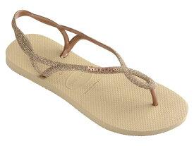 ハワイアナス レディース サンダル シューズ Luna Premium Flip-Flop Sand Grey