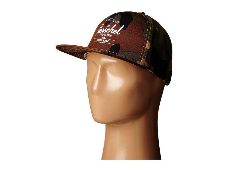 ハーシェルサプライ メンズ 帽子 アクセサリー Whaler Woodland Camo