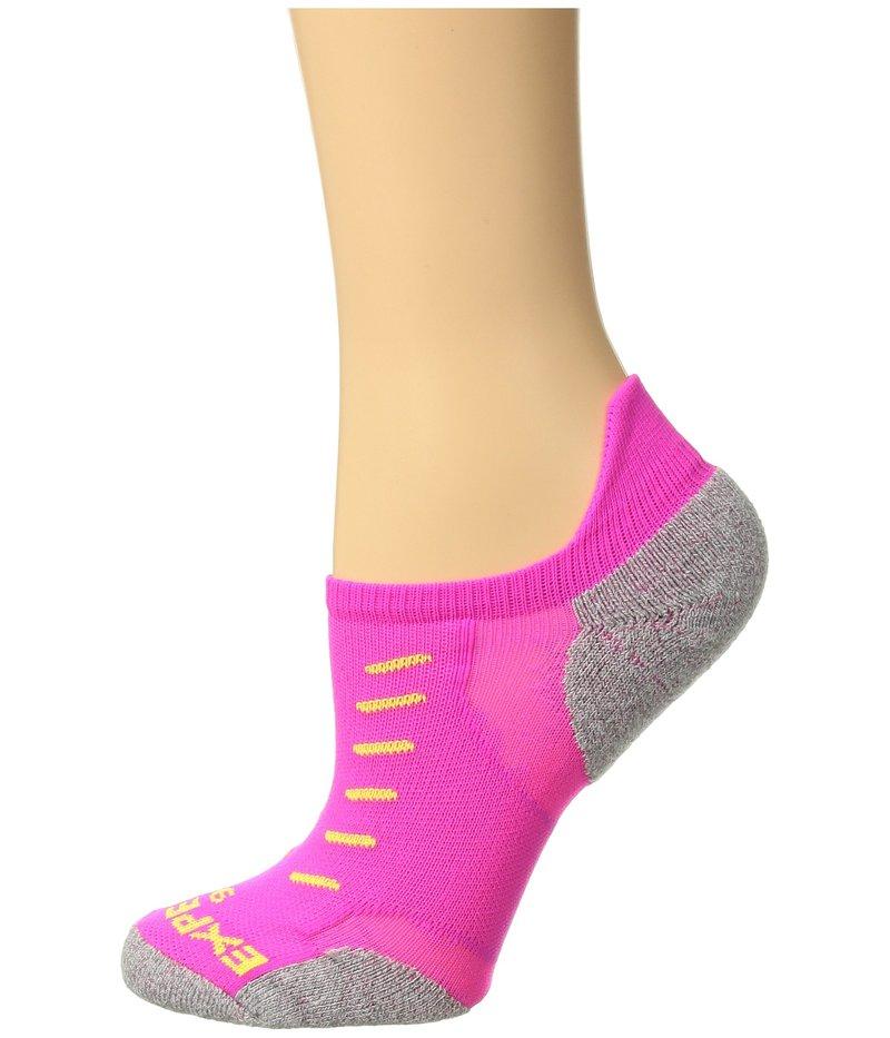ソーロス メンズ 靴下 アンダーウェア Experia No Show Tab Pink Glo