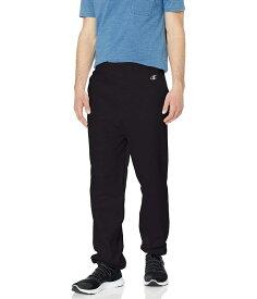 チャンピオン メンズ カジュアルパンツ ボトムス Champion Cotton Max Fleece Sweatpant Black