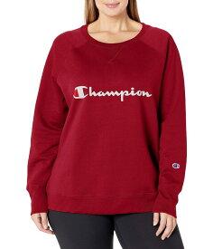 チャンピオン レディース パーカー・スウェット アウター Powerblend Cranberry Red-y