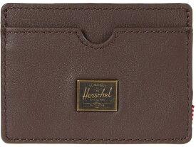 ハーシェルサプライ メンズ 財布 アクセサリー Charlie Leather RFID Brown