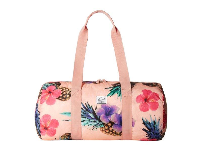 ハーシェルサプライ メンズ ボストンバッグ バッグ Packable Duffle Peach Pineapple