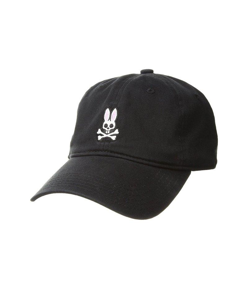 サイコバニー メンズ 帽子 アクセサリー Sunbleached Cap Black