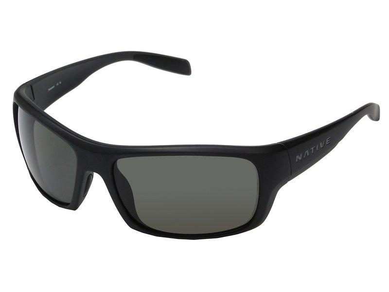 ネイティブアイウェア メンズ サングラス・アイウェア アクセサリー Eddyline Matte Black/Granite