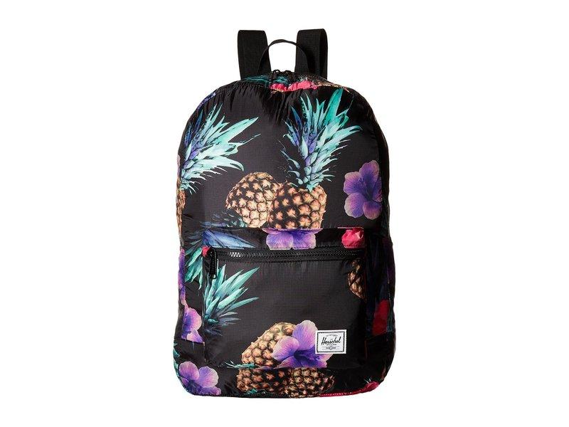 ハーシェルサプライ メンズ バックパック・リュックサック バッグ Packable Daypack Black Pineapple