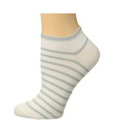 ファルケ レディース 靴下 アンダーウェア Nautical Shimmer Sneaker Sock White