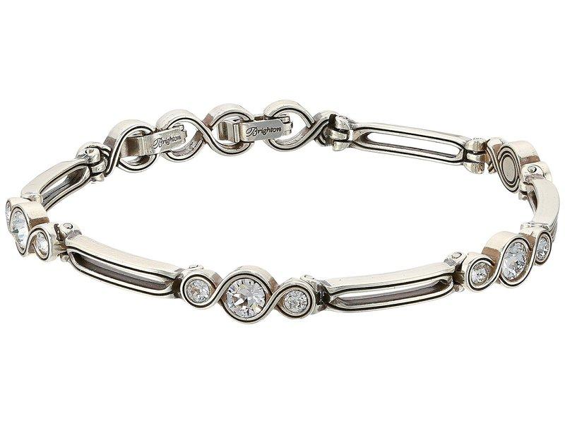 ブライトン レディース ブレスレット・バングル・アンクレット アクセサリー Infinity Sparkle Bracelet Silver/Crystal