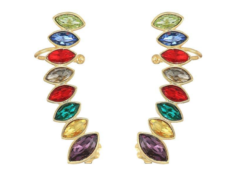 レベッカミンコフ レディース ピアス・イヤリング アクセサリー Stacked Sparkler Ear Climber Earrings True Multi/Gold