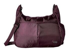パックセーフ レディース ハンドバッグ バッグ Daysafe Anti-Theft Crossbody Bag Blackberry