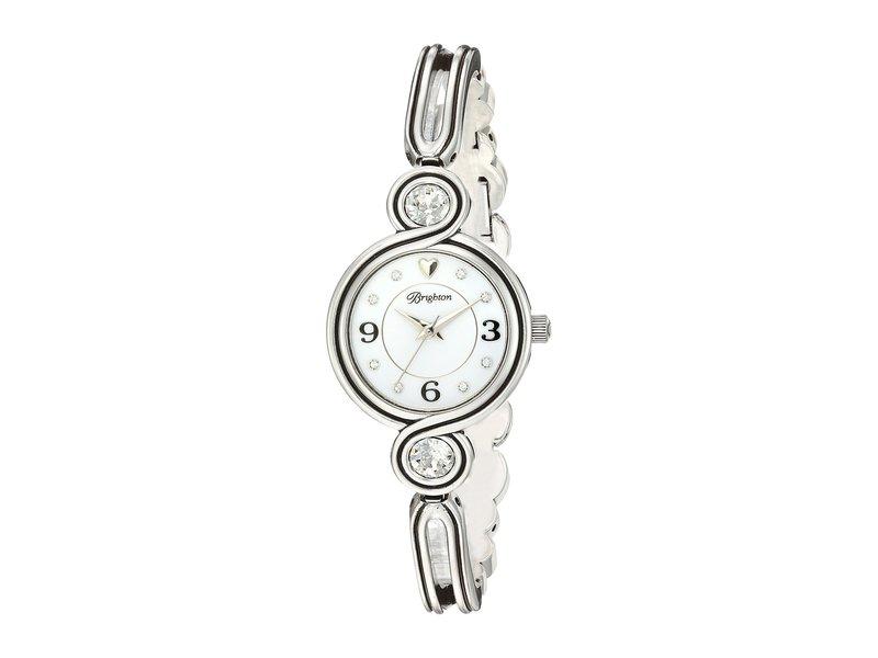ブライトン レディース 腕時計 アクセサリー Infinity Sparkle Watch Silver