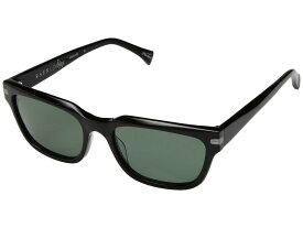 レーン メンズ サングラス・アイウェア アクセサリー Colfax 57 Black/Green Polarized