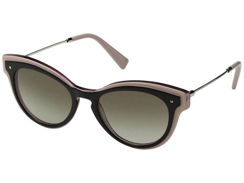 ヴァレンティノ レディース サングラス・アイウェア アクセサリー 0VA4017 Top Black/Pink/Transparent Pink/Gradient Green