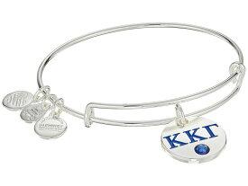 アレックスアンドアニ レディース ブレスレット・バングル・アンクレット アクセサリー Color Infusion Kappa Kappa Gamma II Bangle Shiny Silver