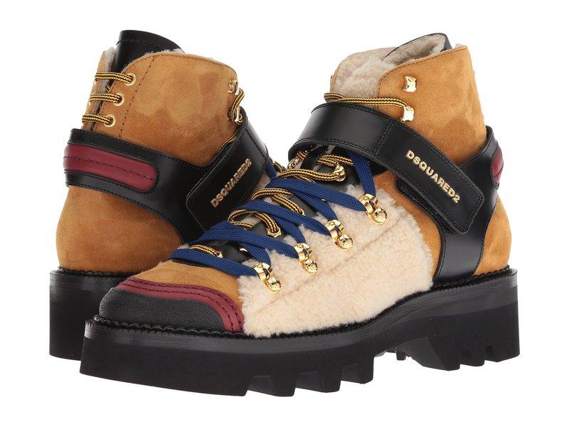 ディースクエアード メンズ ブーツ・レインブーツ シューズ Hiking Ankle Boot Camel