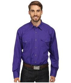 ローパー メンズ シャツ トップス L/S Solid Basic Snap Front Purple