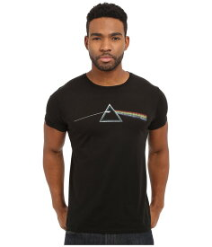 オリジナルレトロブランド メンズ シャツ トップス Vintage Cotton Short Sleeve Pink Floyd Tee Black