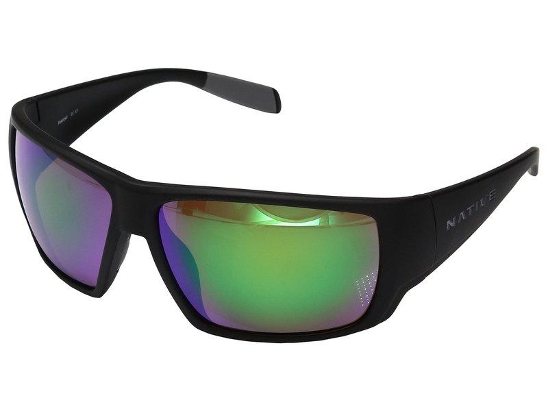 ネイティブアイウェア メンズ サングラス・アイウェア アクセサリー Sightcaster Matte Black 1