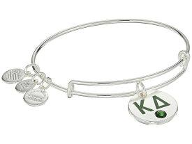 アレックスアンドアニ レディース ブレスレット・バングル・アンクレット アクセサリー Color Infusion Kappa Delta II Bangle Shiny Silver