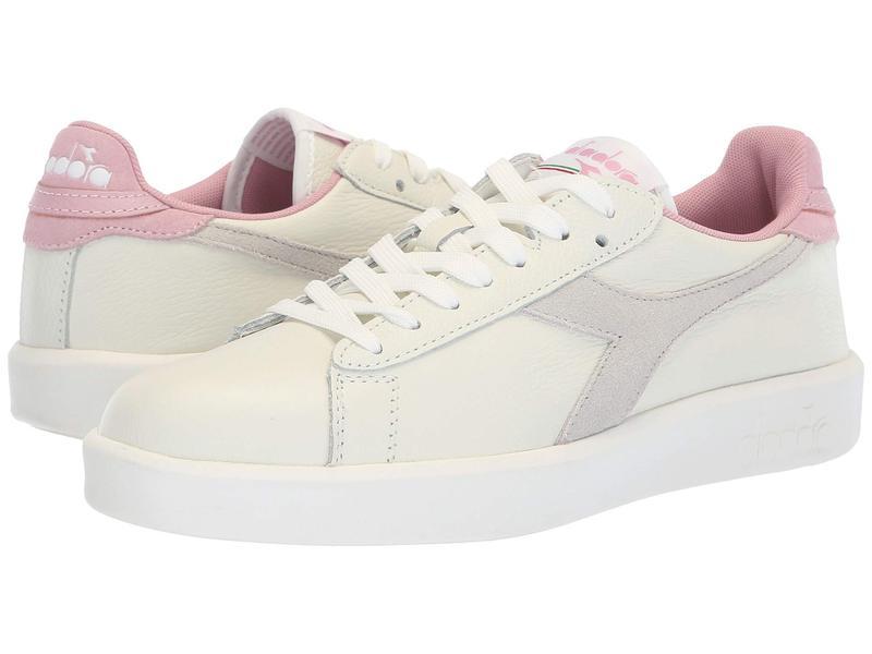 ディアドラ レディース スニーカー シューズ Game Wide L White/Cameo Pink