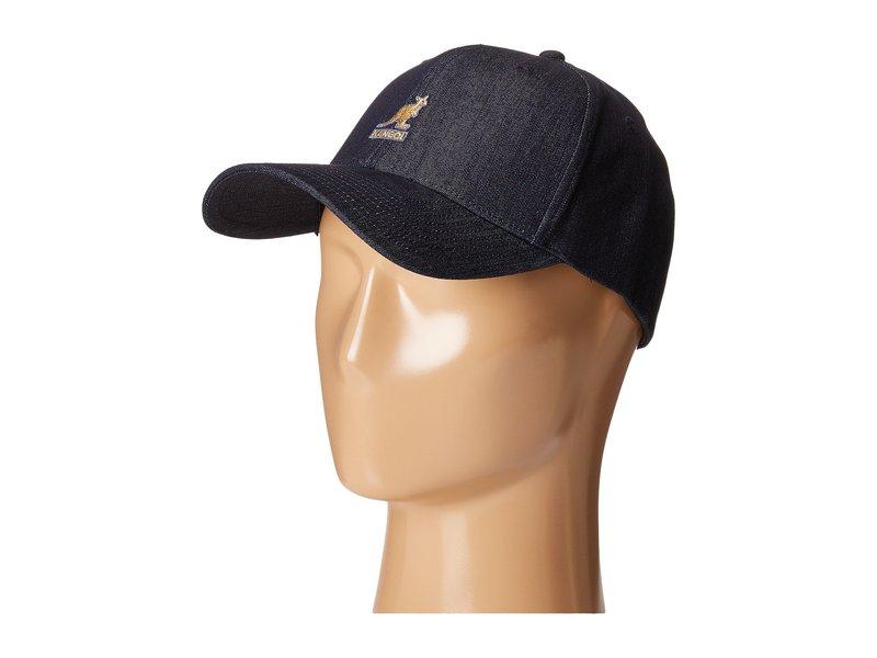 カンゴール メンズ 帽子 アクセサリー Denim Baseball Indigo