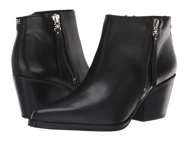 サムエデルマン レディース ブーツ・レインブーツ シューズ Walden Black Modena Calf Leather