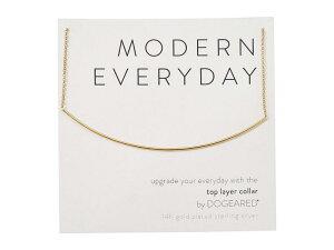 ドジャード レディース ネックレス・チョーカー・ペンダントトップ アクセサリー Modern Everyday, Top Layer Collar Necklace Gold