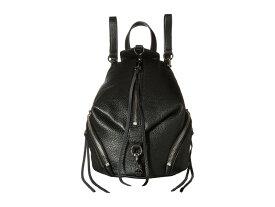 レベッカミンコフ レディース バックパック・リュックサック バッグ Convertible Mini Julian Backpack Black 1