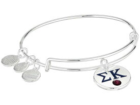 アレックスアンドアニ レディース ブレスレット・バングル・アンクレット アクセサリー Color Infusion Sigma Kappa II Bangle Shiny Silver
