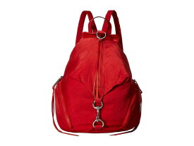 レベッカミンコフ レディース バックパック・リュックサック バッグ Julian Nylon Backpack Scarlet