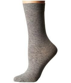 ファルケ レディース 靴下 アンダーウェア Sensual Cashmere Ankle Anthrocite Melange